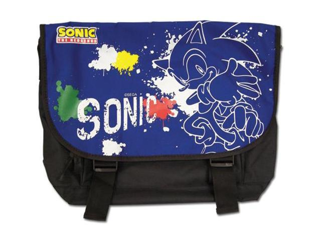 Messenger Bag - Sonic - New Sonic Line Spray Art School Bag ge11577