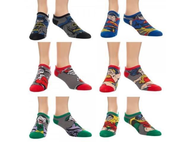 Ankle Socks - DC Comics - Character Set Pack New Anime Licensed as1xi5btm