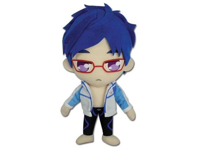 Plush - Free! - New Rei 8'' Soft Doll Toys Anime Licnesed ge52672