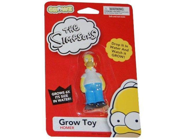 Action Figures - Simpsons - Homer Grow Figure Series 1 New Toys 09405