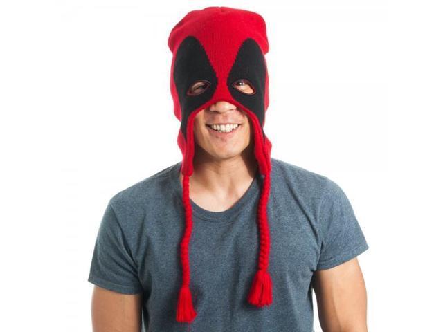 Marvel Comics Deadpool Mask Laplander Hat