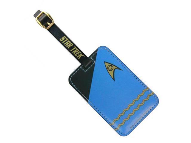 Luggage Tag - Star Trek - Blue Uniform New Toys Licensed ST-L106