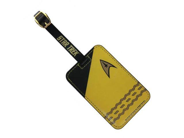 Luggage Tag - Star Trek - Gold Uniform New Toys Licensed ST-L104