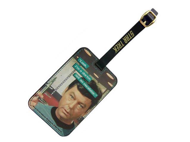 Luggage Tag - Star Trek - Dr. McCoy Graphic New Toys Licensed ST-L103