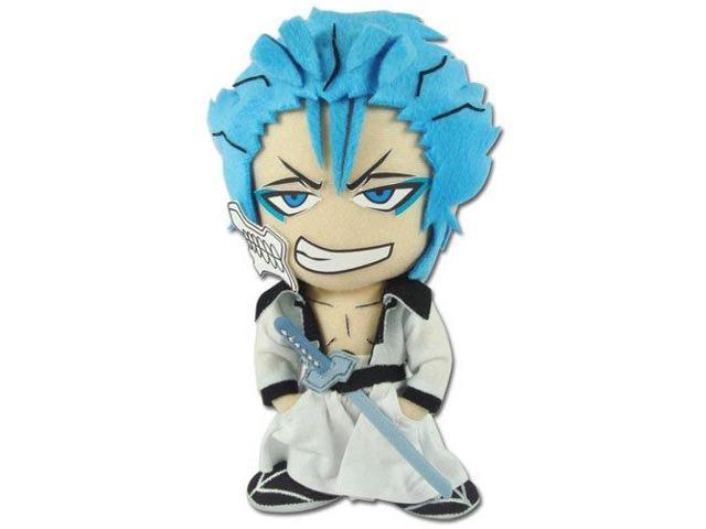 Plush - Bleach - New Grimmjow 8'' Soft Doll Anime Gifts Toys Licensed ge8978