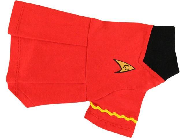 Pets Supply - Dog T-Shirt - Star Trek - Uniform Dog Skirt Red Uhura-S ST262