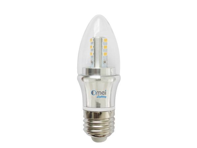 6-Pack Dimmable 60w E26 medium base 6w daylight white 4000k led chandelier light bulbs  sc 1 st  Newegg.com & 6-Pack Dimmable 60w E26 medium base 6w daylight white 4000k led ... azcodes.com