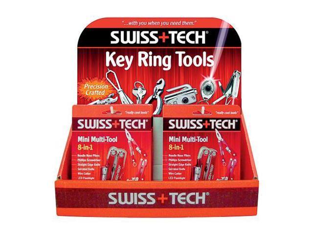 Swiss Tech Multi Tool Mini 8N1 0800-0036