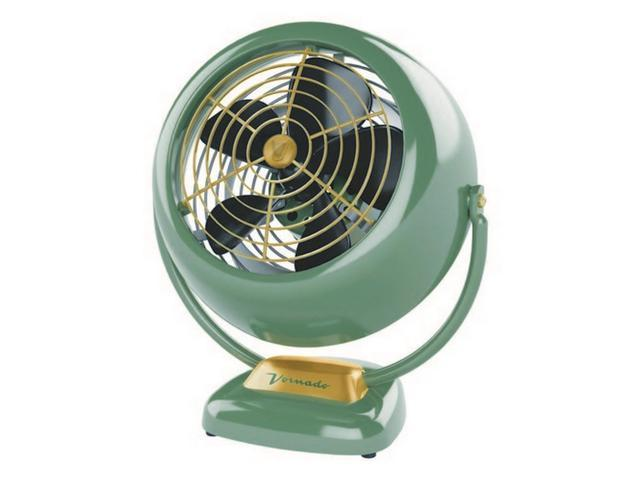 Vornado vintage 3 speed fan antique green for whole room for Air circulation in a room
