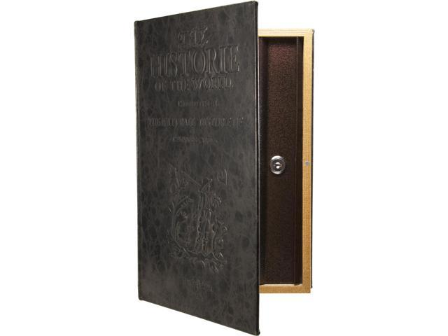Large Antique Book Safe with Key Lock