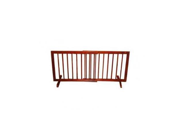 Cardinal Gates Step Over Free Standing Pet Gate Walnut 28