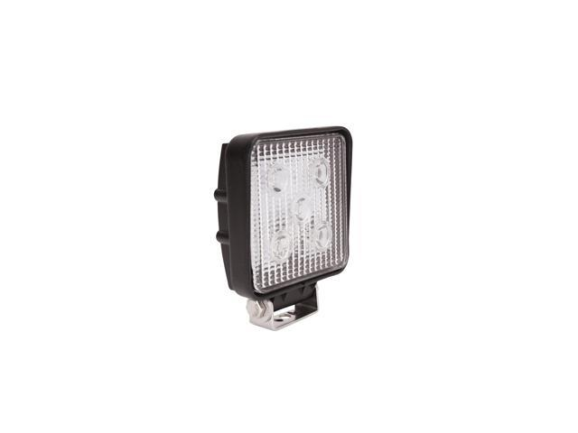 Westin 09-12210A LED Work Light; 4.5 x 5.4 in.; Square; Spot; Incl. Light/Mounting Hardware;