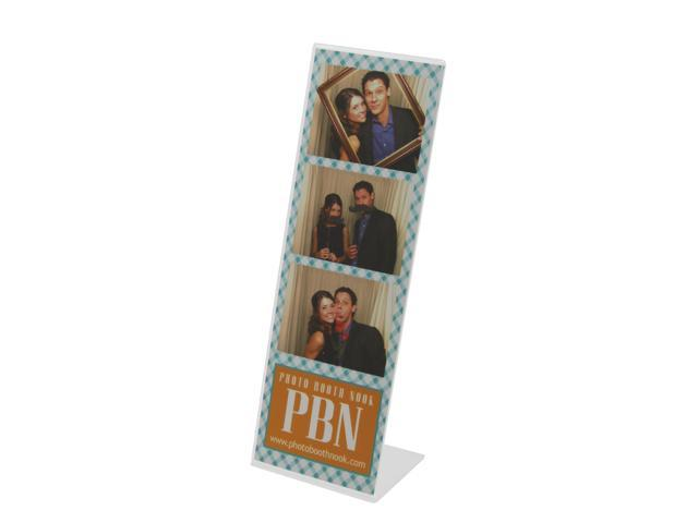 50 Slanted Acrylic Photo Booth Frames for 2x6 Photo Strips - Newegg.com