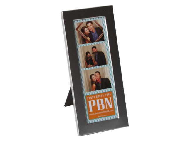 Premium Brushed Metal Photo Booth Frame, Holds one 2x6 photo booth ...