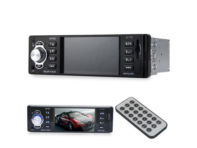 4016C 4.1 Inch HD Digital Vehicle MP5 Player Car DVD FM Radio with USB SD AUX Interfaces