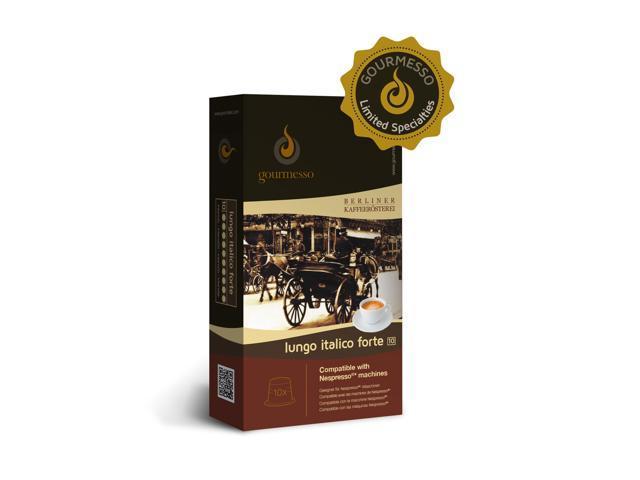 nespresso compatible coffee capsules 10 lungo italico. Black Bedroom Furniture Sets. Home Design Ideas