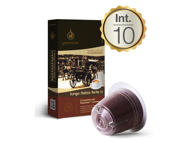 lungo italico forte 10 nespresso compatible coffee. Black Bedroom Furniture Sets. Home Design Ideas