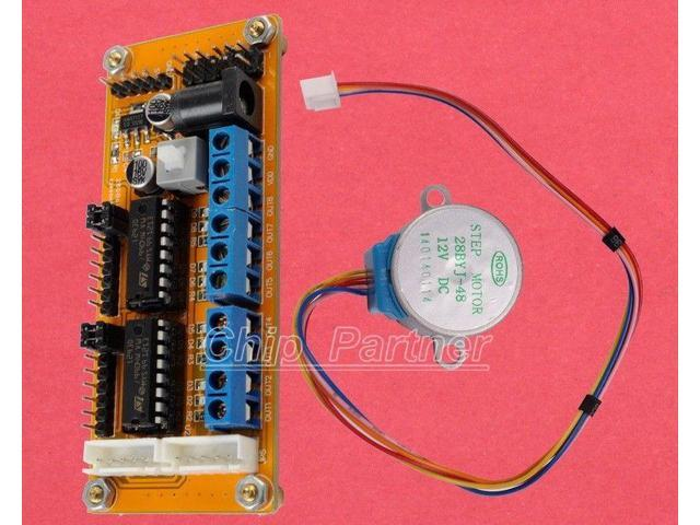 L293d motor driver module 12v 28ybj 48 motor for smart for L293d motor driver module