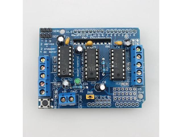 Motor drive shield expansion board l d reset button for