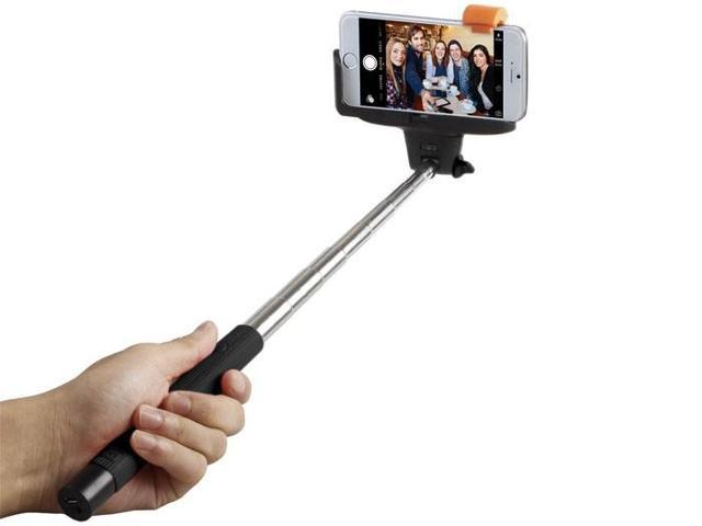 selfie stick quicksnap pro 3 in 1 self portrait monopod extendable wireless bluetooth selfie. Black Bedroom Furniture Sets. Home Design Ideas