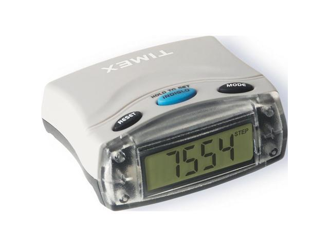 Timex Digital Pedometer Clip Step Distance Calorie T5E021 | Lightweight Durable