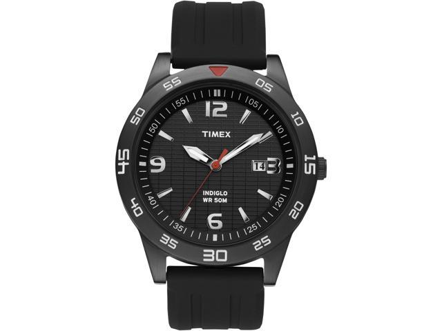 Timex Men's | Black Case w Silver-Tone Hands | Elevated Classics  Watch T2N694