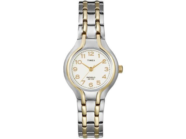 Timex Women's | Two-Tone Case & Stainless Steel Bracelet | Dress Watch T27191