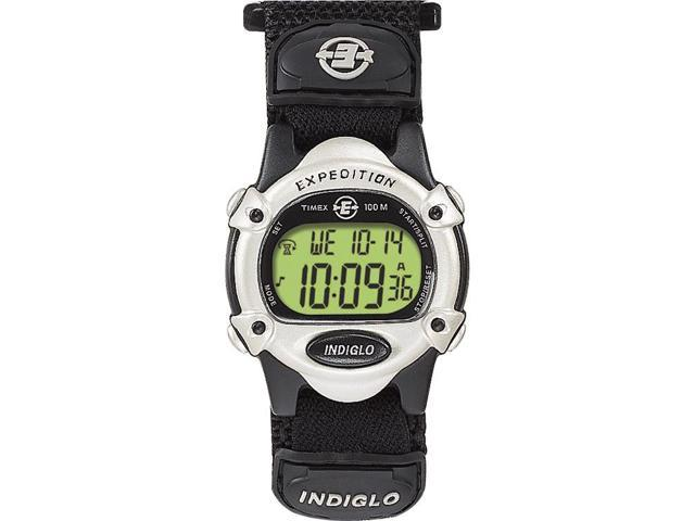 Timex Expedition Unisex | Midsize Black Case & Fastwrap | Digital Watch T47852