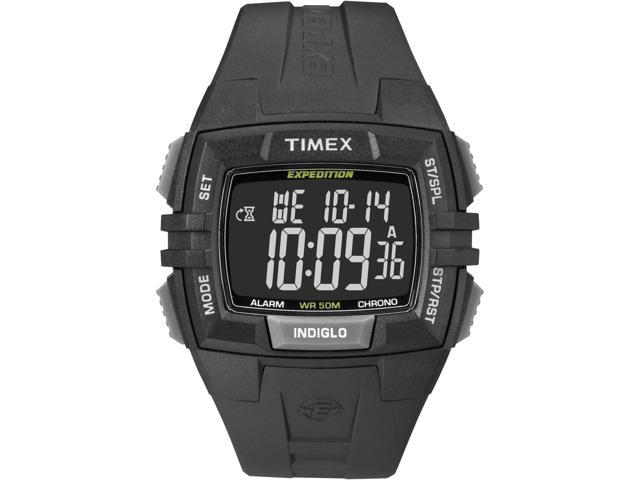 Timex Men's Expedition | Black Case & Strap Rugged Digital CAT Watch T49900