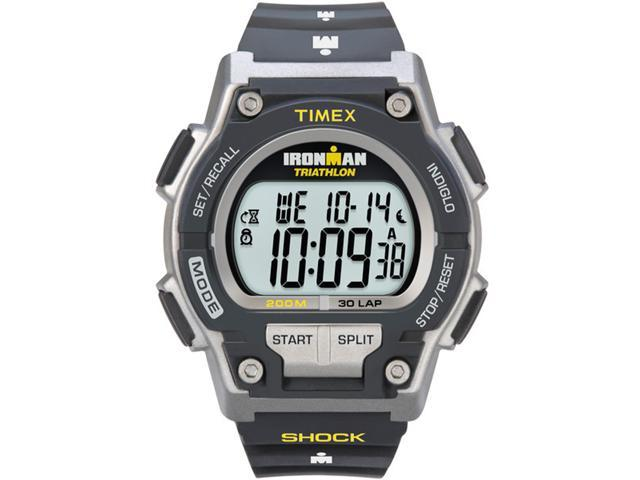 Timex Digital Men's Watch - Ironman Endure Traditional 30-Lap Full | Gray Case
