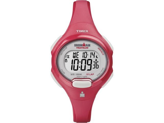 Timex Ironman Women's | Red Case & Strap | Digital Traditional 10-Lap T5K783