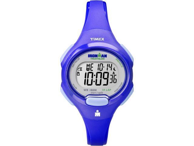 Timex Ironman Women's | Violet Case & Strap | Digital 10-Lap Mid Size T5K784