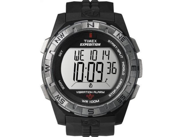 Timex Men's Expedition Rugged Digital Black Case & Strap | Outdoor Watch T49851