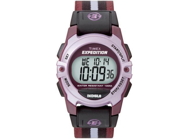 Timex Women's Expedition   Chronograph Alarm Timer Mid-Size Digital Nylon
