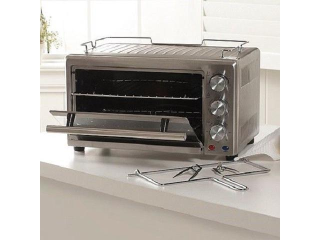 Wolfgang Puck 22-Liter 1400W Convection Toaster Oven with Rotisserie