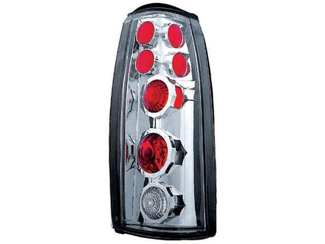 IPCW CWT-CE303CS Cadillac Escalade 1990 - 2000 Tail Lamps, Crystal Eyes Platinum Smoke