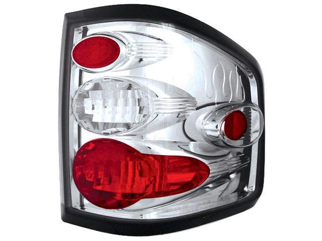IPCW 04-08 Ford F150/F250 LD Tail Lamps Flareside Platinum Smoke CWT-CE539CS