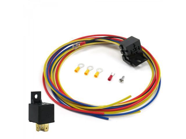 Keep It Clean Wiring Accessories PS256671 Fog Driving Light High Output Relay Harness Kit Fits Toyota Tacoma j spec custom