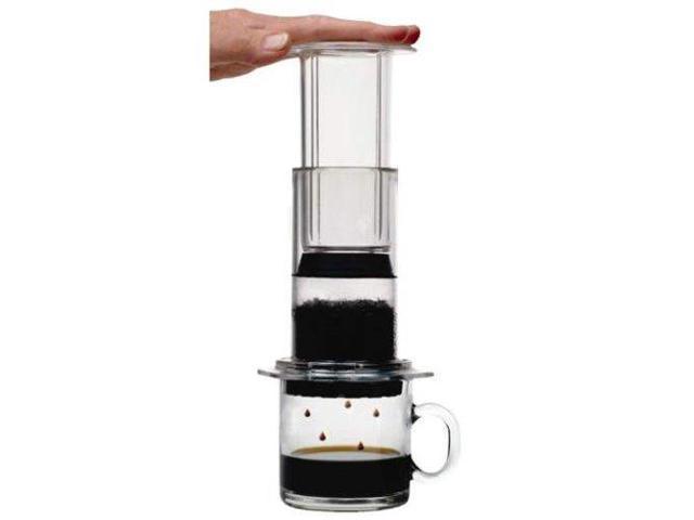 Aerobie Aeropress Coffee Maker Black : AeroPress Coffee and Espresso Maker with Bonus 350 Micro Filters - Newegg.com