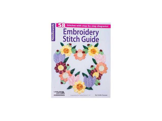 Embroidery stitch guide newegg