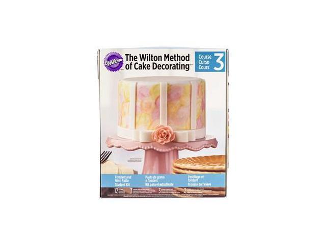 Wilton Cake Decorating Kit Course 2 : Wilton Method of Cake Decorating Course 3 Kit - Newegg.com
