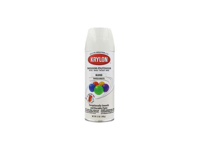 krylon dover white indoor outdoor spray paint. Black Bedroom Furniture Sets. Home Design Ideas