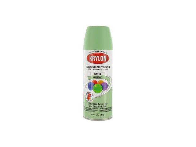 krylon pistachio indoor outdoor satin spray paint. Black Bedroom Furniture Sets. Home Design Ideas