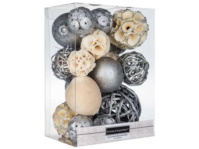 Silver decorative spheres newegg