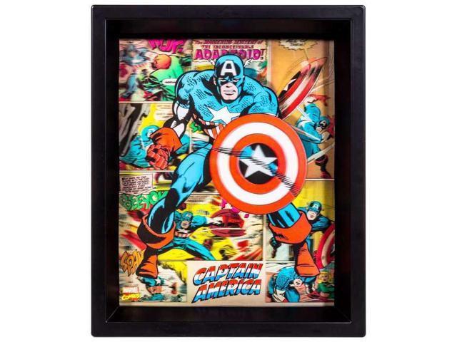 Captain America 3d Framed Wall Decor