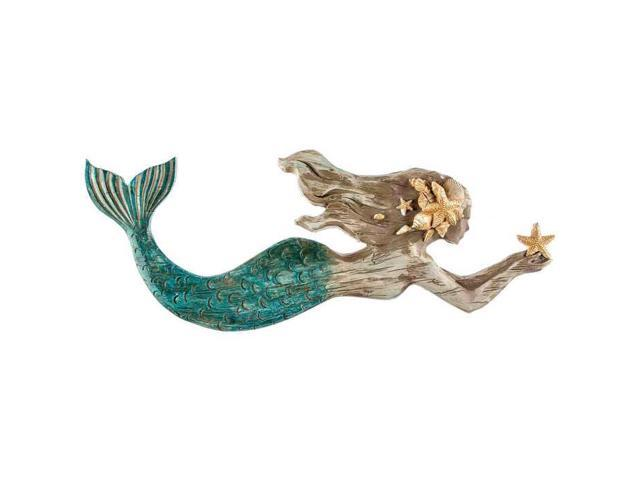 Mermaid resin wall decor for Resin wall art