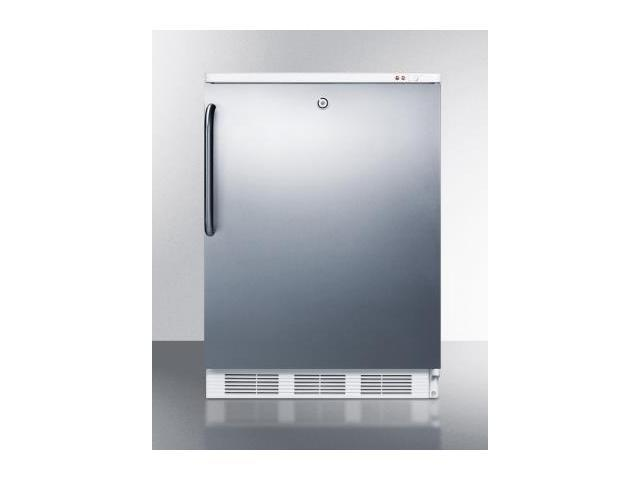 Summit  VT65ML7BISSTB Commercially Approved Medical Upright Freezer with 3.5 cu. ft. Capacity  Factory Installed Lock