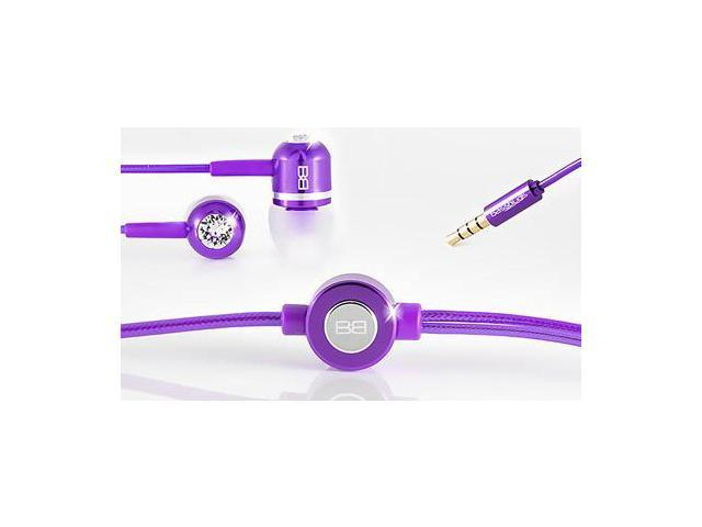 BassBuds Classic Collection Purple