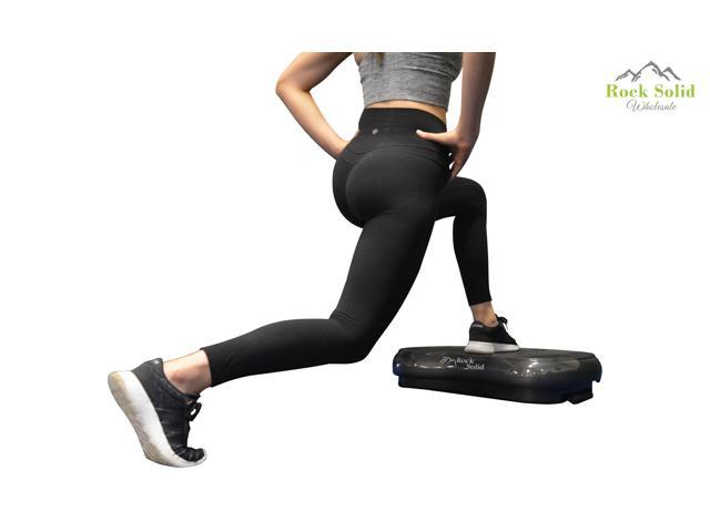Rock Solid Whole Body Vibration Fitness Machine With 2 Year Warranty-500 Watt Motor