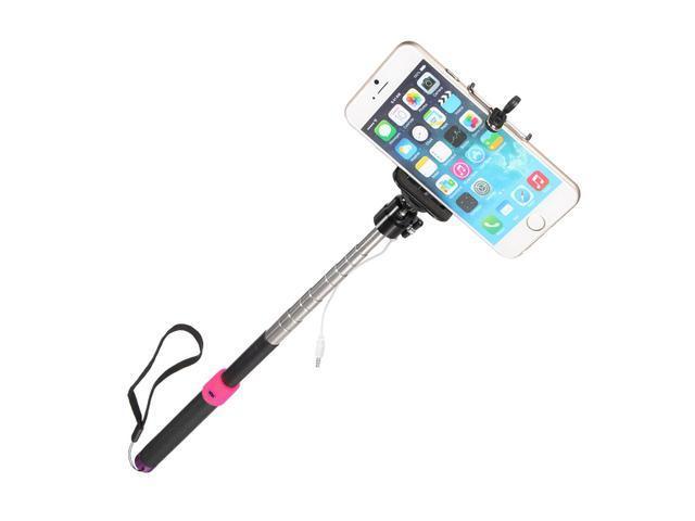 monopod selfie stick phone holder remote shutter with jack cable and re. Black Bedroom Furniture Sets. Home Design Ideas